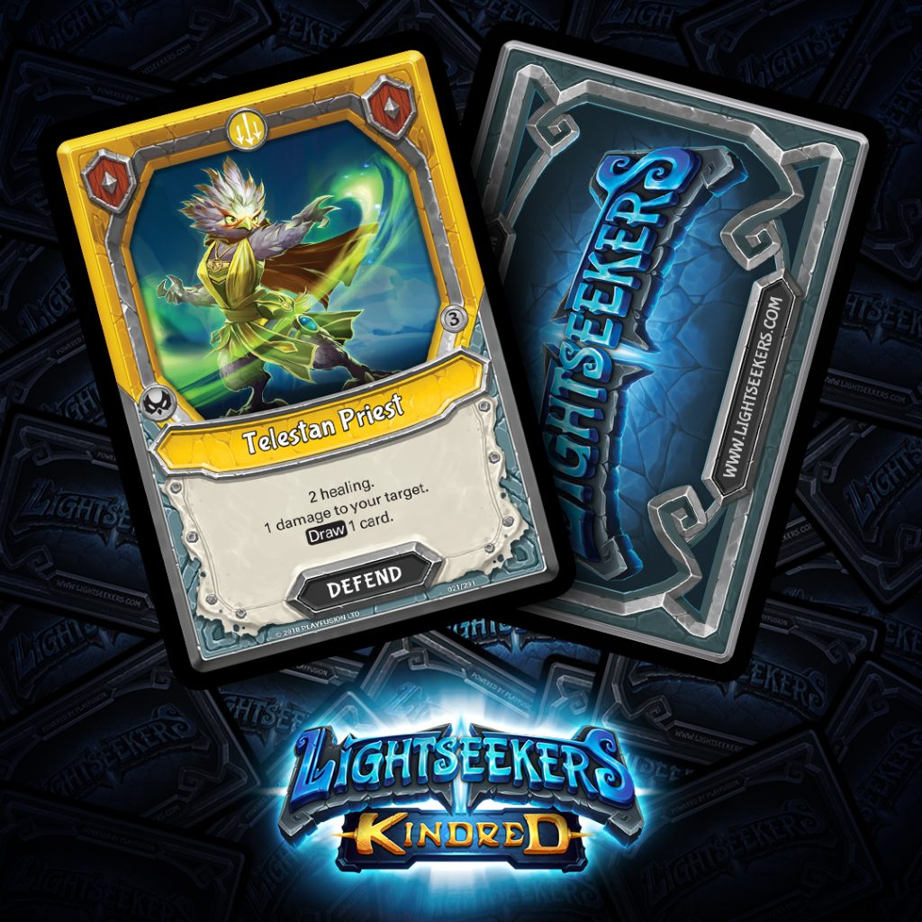Lightseekers Kindred Card Reveal - Telestan Priest
