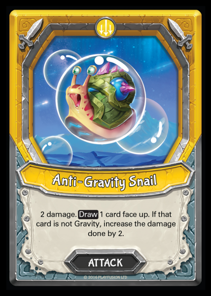 Anti-Gravity Snail (Astral - Attack - Common) - Lightseekers TCG