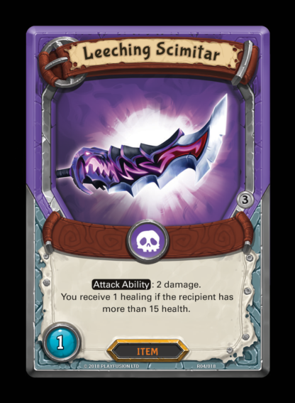 Leeching Scimitar - Lightseekers Kindred - Rift Pack Lost Relics
