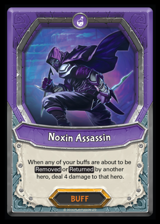 Noxin Assassin (Dread - Buff - Rare) - Lightseekers TCG