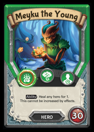 Meyku the Young (Nature - Hero - Common) - Lightseekers TCG