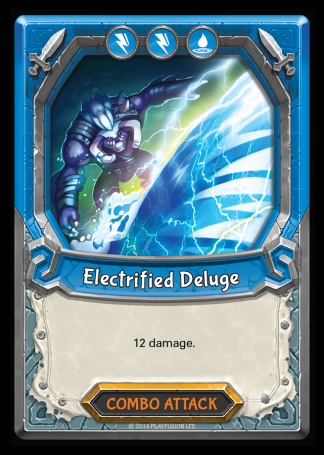 Electrified Deluge (Storm - Combo - Rare) - Lightseekers TCG