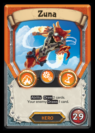 Zuna (Tech - Hero - Rare) - Lightseekers TCG