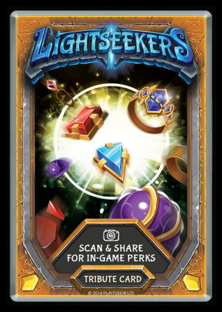 Tribute Card - Lightseekers Awakening