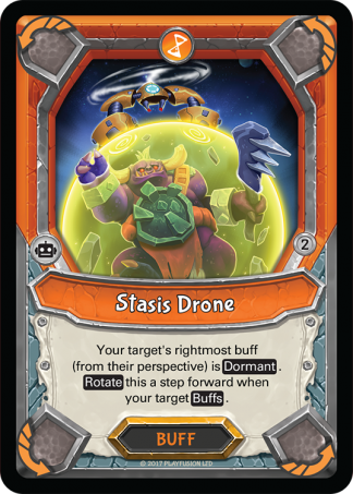 Stasis Drone (Tech - Buff - Rare) - Lightseekers Mythical
