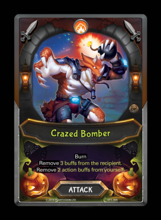 Crazed Bomber - Lightseekers Organized Play Kit - OP1