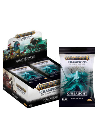 Warhammer Champions - Wave 2 - Onslaught Booster Box